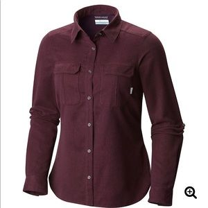 Columbia Pilsner Lodge shirt sz S button down